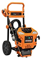 Generac 6602 OneWash 4-In-1 PowerDial 3,100 PSI 2.8 GPM Gas Powered Residential Pressure Washer
