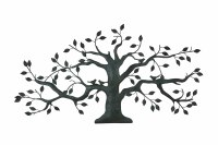 Tree of life metal wall art large decoration with branch ...