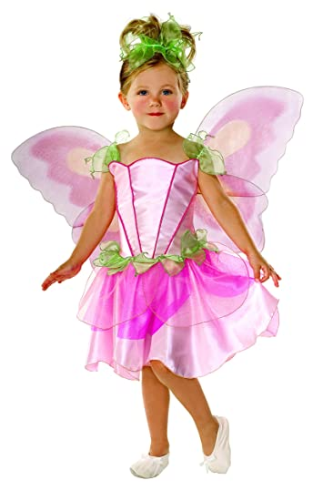 Let's Pretend Child's Springtime Fairy Costume with Wings, Medium