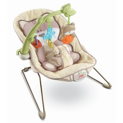 Vibrating Chair Baby High Back Executive Office Leather Fisher Price Beary Snug Bouncer Seat Ebay