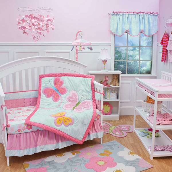 Butterfly Crib Bedding - Totally Kids Bedrooms