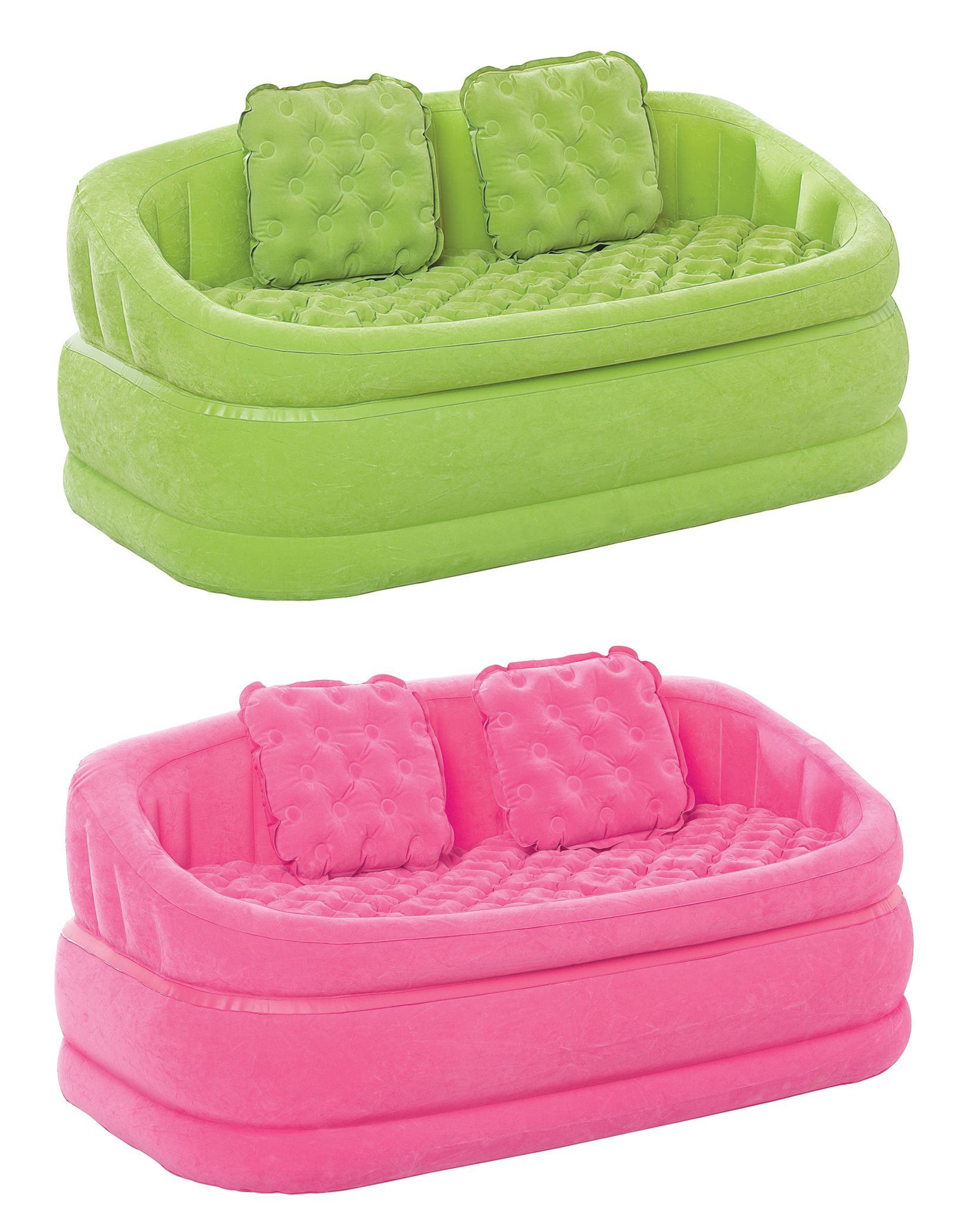 intex inflatable chairs cheap table linens and chair covers galleon café loveseat colors may vary