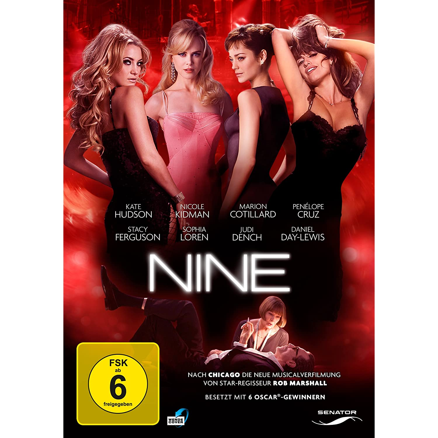 Nine [DVD], ca. 8 Euro