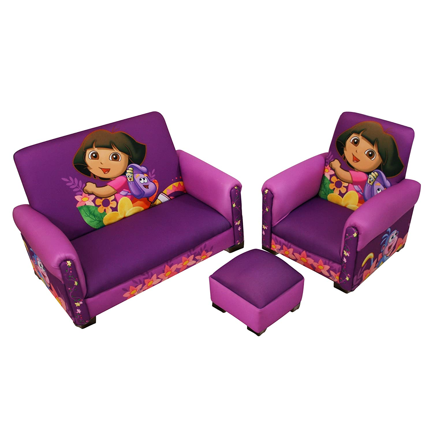 dora the explorer flip out sofa bed fold table kids chairs and sofas 2013