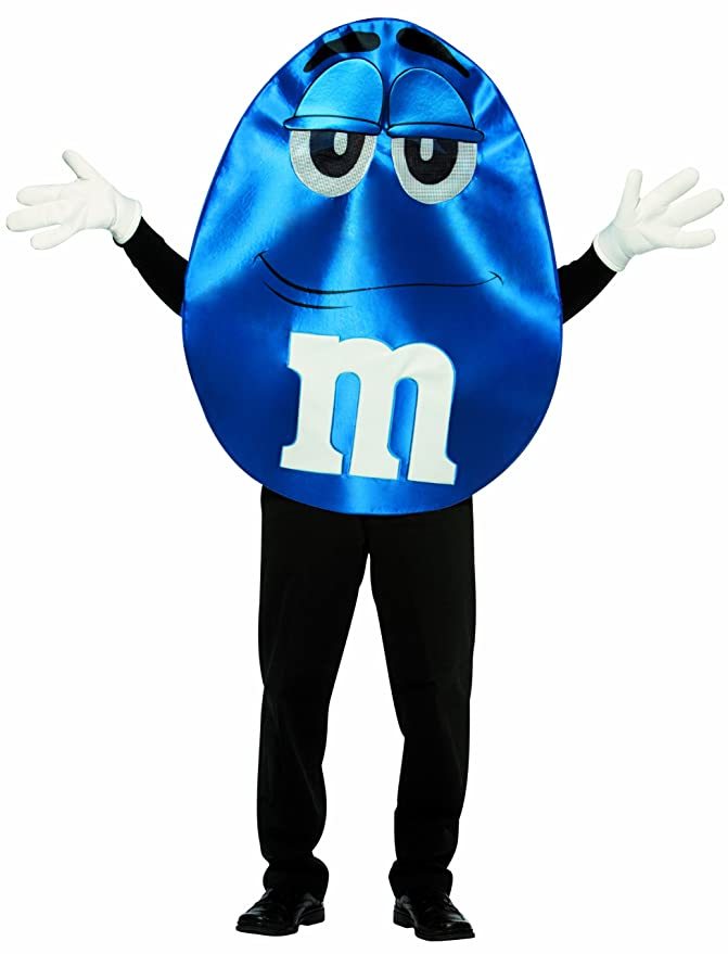 Rasta Imposta M&M's Character Deluxe, Blue, One Size