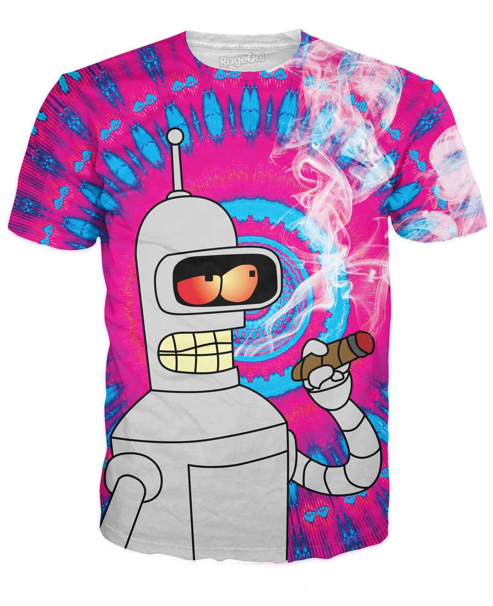 RageOn Men's Blazing Bender T-Shirt