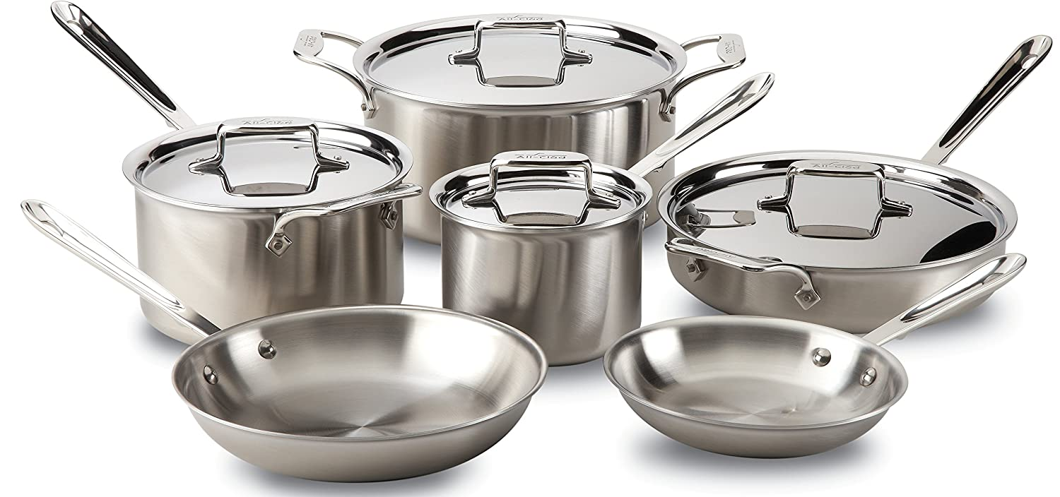 Stain;ess steel cookware
