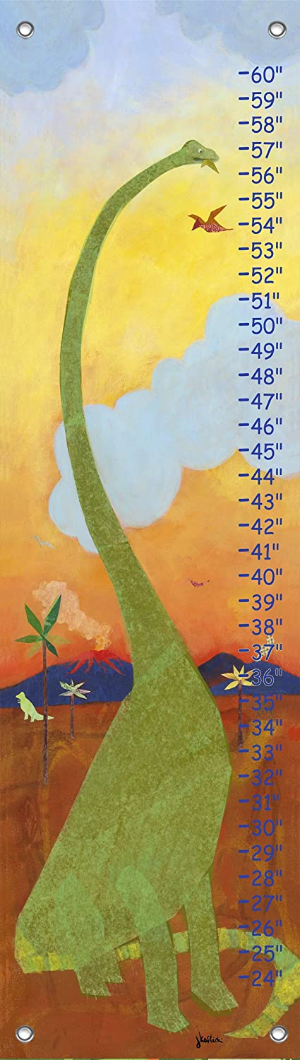 Oopsy daisy Long Neck Dinosaur Growth Chart