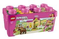Children LEGO Juniors 10674: Pony Farm Horse Bricks Blocks ...