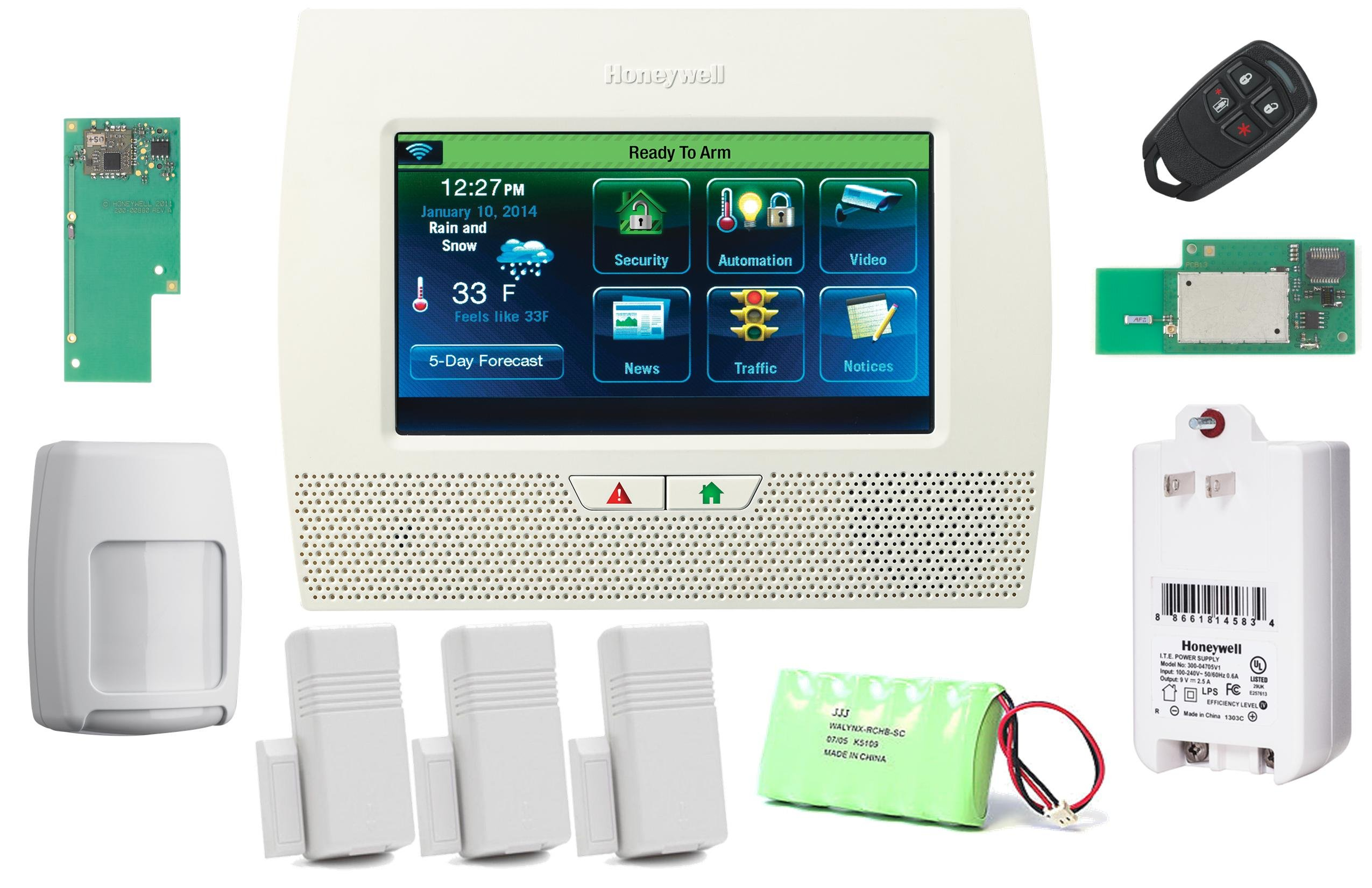 honeywell wifi thermostat kit led strobe light circuit diagram lynx touch l7000 wireless residential commercial