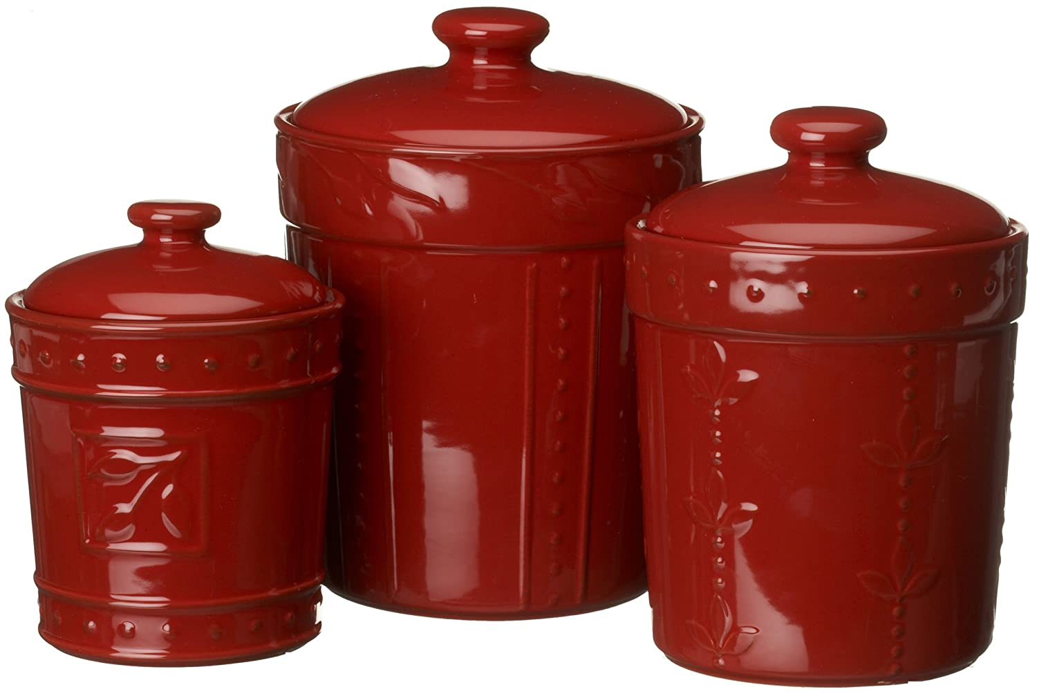 red canister set for kitchen ikea cart canisters storage containers lids