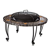 Axxon 32 inch Alhambra Fire Pit with Cover | Home Decor ...