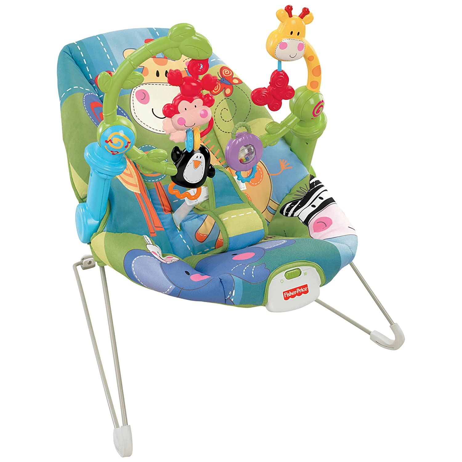 Bouncy Chair Fisher Price Discover And N Grow Jungle Bouncer Activity
