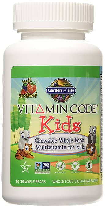 Garden of Life Vitamin Code Kids, 60 Chewable