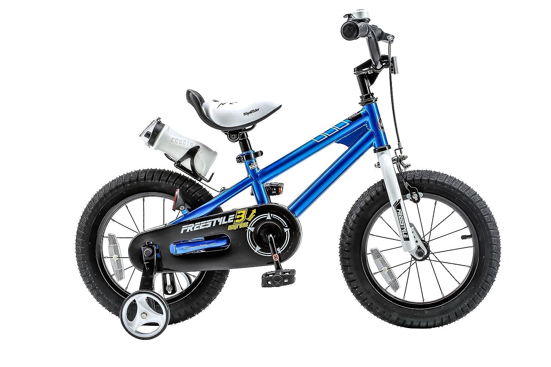 RoyalBaby BMX Freestyle Kids Bike, Boy's Bikes and Girl's Bikes with training wheels