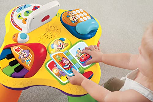 Fisher-Price Laugh 'N Learn Laugh and Learn Puppy and Friends Learning Table