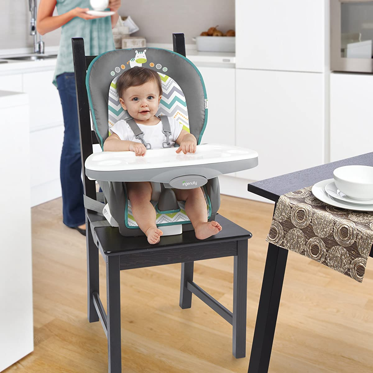 High Chair Deals Ingenuity Trio 3 In 1 Ridgedale High Chair Grey