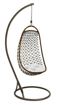 Metal Hanging Chair 84 Inches High by Benzara ...
