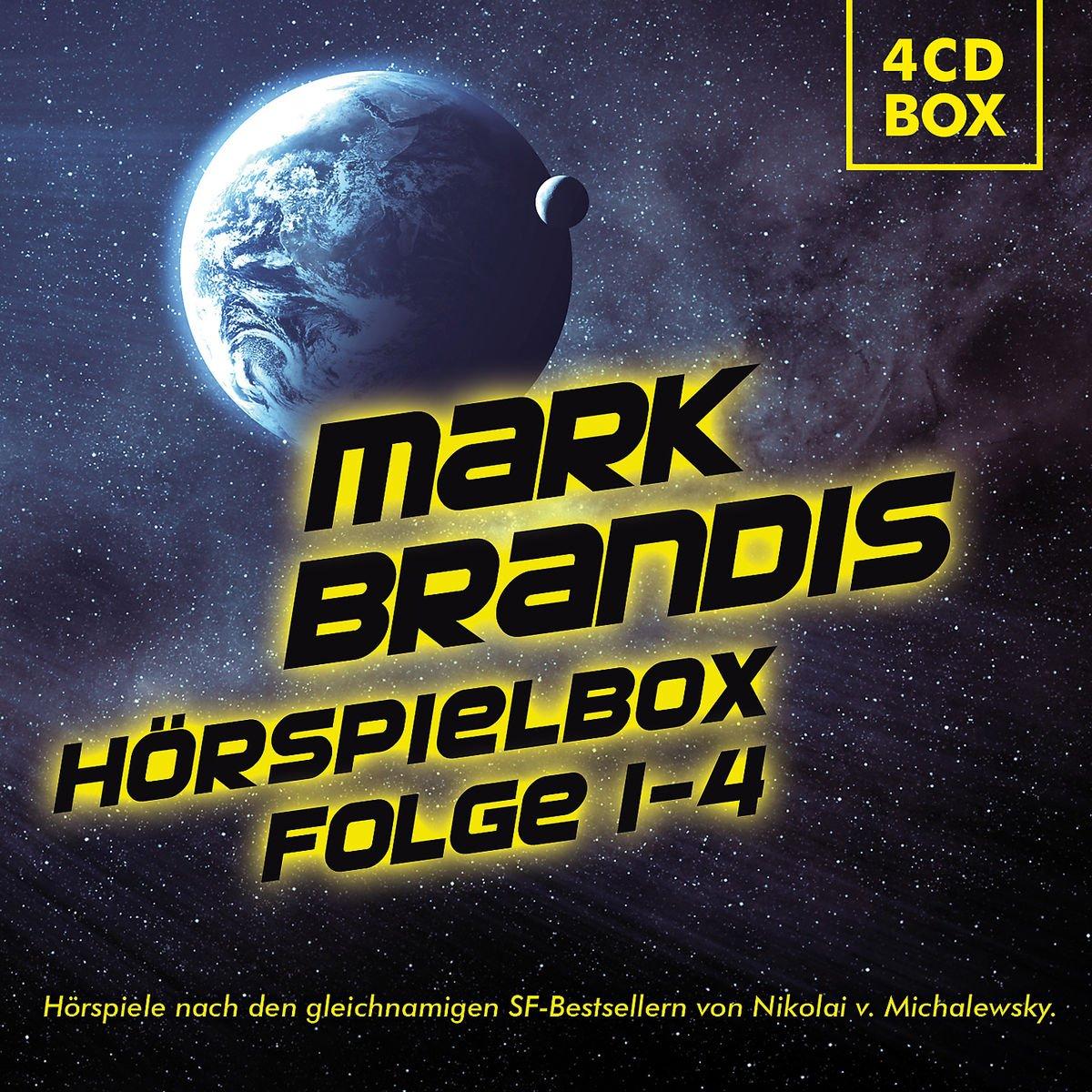 Mark Brandis Hörspiel Box Folgen 1-4 (Folgenreich)