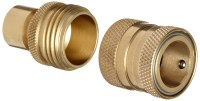 Dixon DGH7 Brass Quick-Connect Fitting, Garden Hose ...