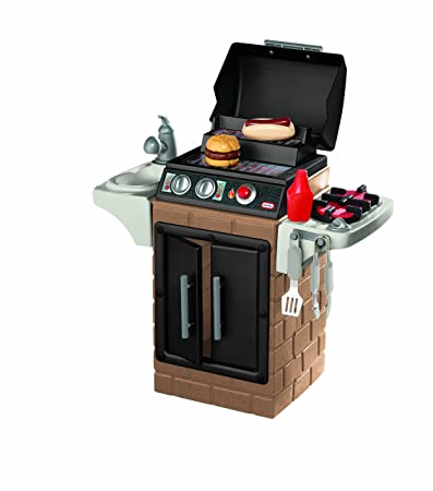 Hot Price Amazon Little Tikes Get Out N Grill Kitchen Set Only