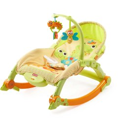 Infant Bouncy Chair Baxton Studio Yashiya Rocking And Ottoman Set Fisher Price Newborn Toddler Portable Rocker Baby Bouncer