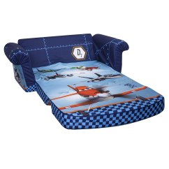 Fold Out Chair Bed Kids Pop Up Beach Chairs Disney Dusty Air Planes Flip Open Sofa Lounger