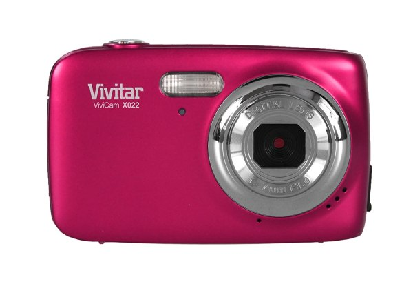 Genuine Vivitar X022 10mp 4x Compact Digital Camera - Pink