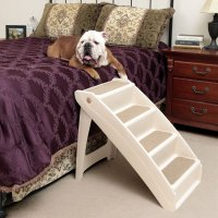 Solvit Pet Steps Dogs Cats Stairs Foldable Ramp Bed Chair ...