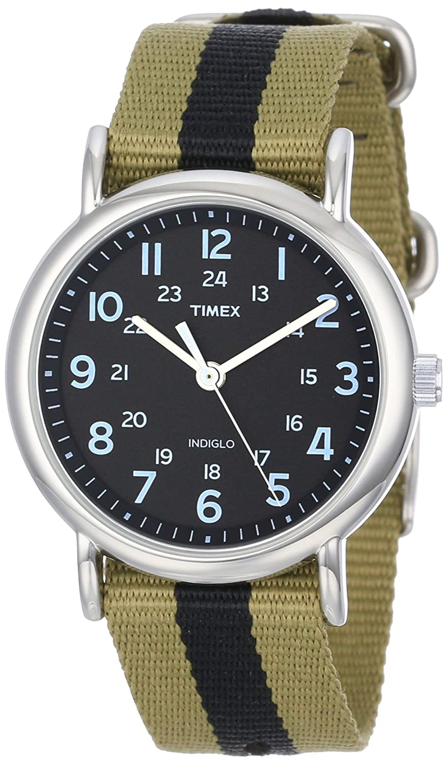 42% discount on Timex Weekender Indiglo Analog Grey Dial Unisex Watch @1745 at Amazon