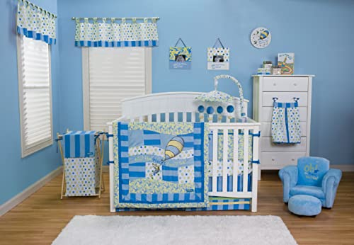 Dr. Seuss Baby Bedding Oh The Places You'll Go! Blue 3pc