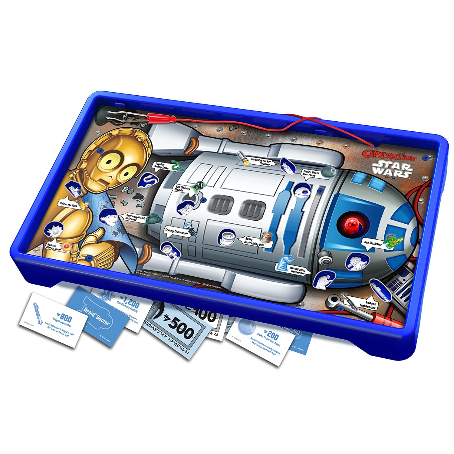 The game Operation Star Wars Style - on R2 D2!