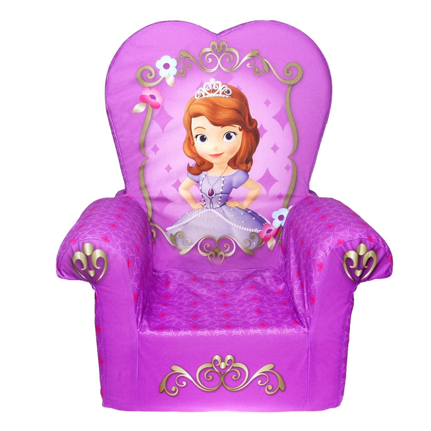 Sofia Chair Disney Princess Sofia The First High Back Chair Sofa Kids