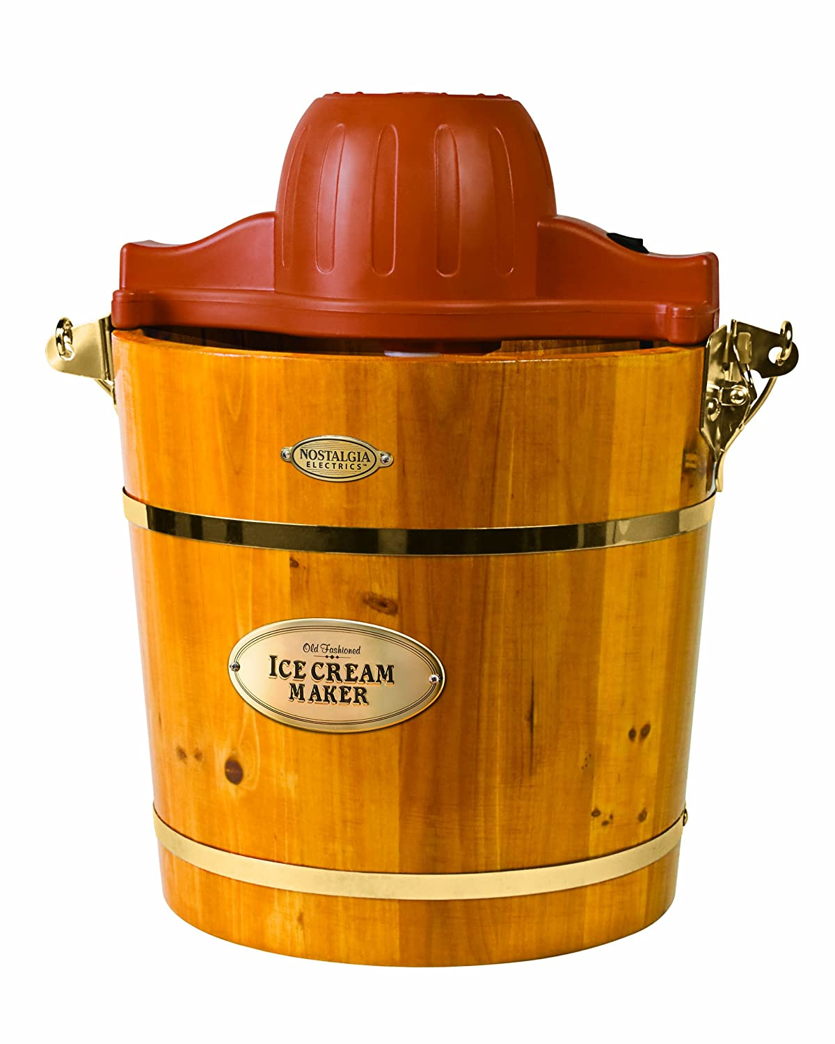 Wooden Traditional Homemade Ice Cream Maker