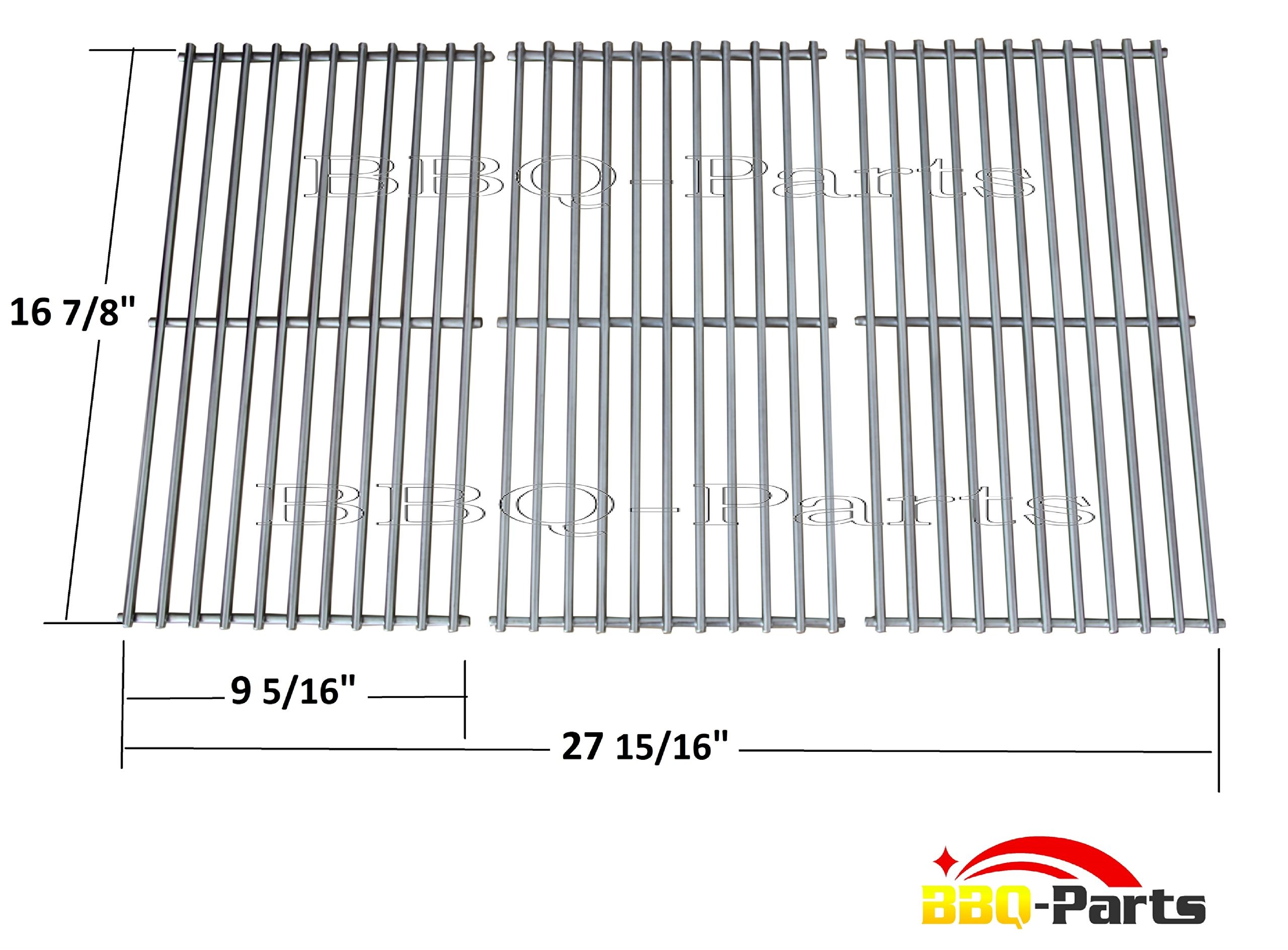 Sch763 Ss Cooking Grid Replacement For Charbroil Kenmore And Other Gas Grills