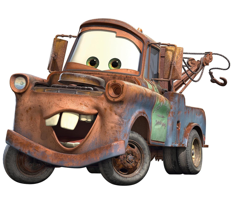 Disney Pixar Cars Mater Peel & Stick Giant Wall Decal