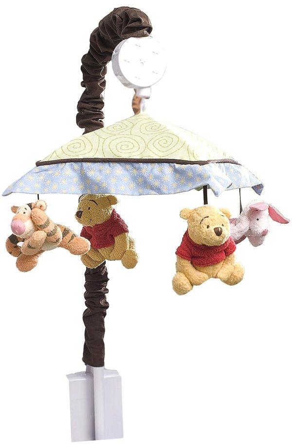 Winnie Pooh Baby Bedding Sunshine Patch