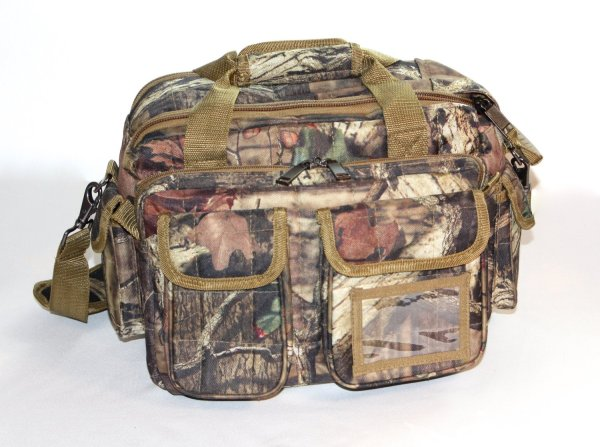 Mossy Oak Camo Tactical Range Duffle Bag Gun Pistol Camera