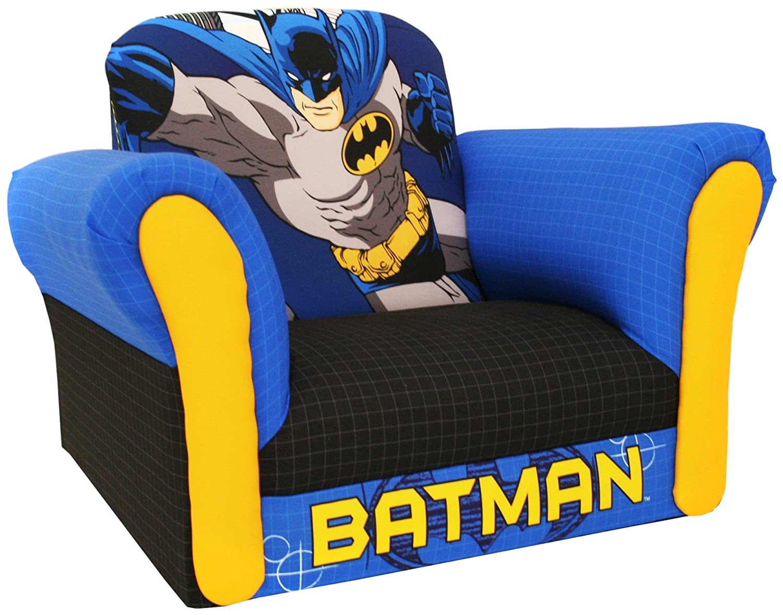 superhero bean bag chair round futon cushion batman bedroom decor archives groovy kids gear