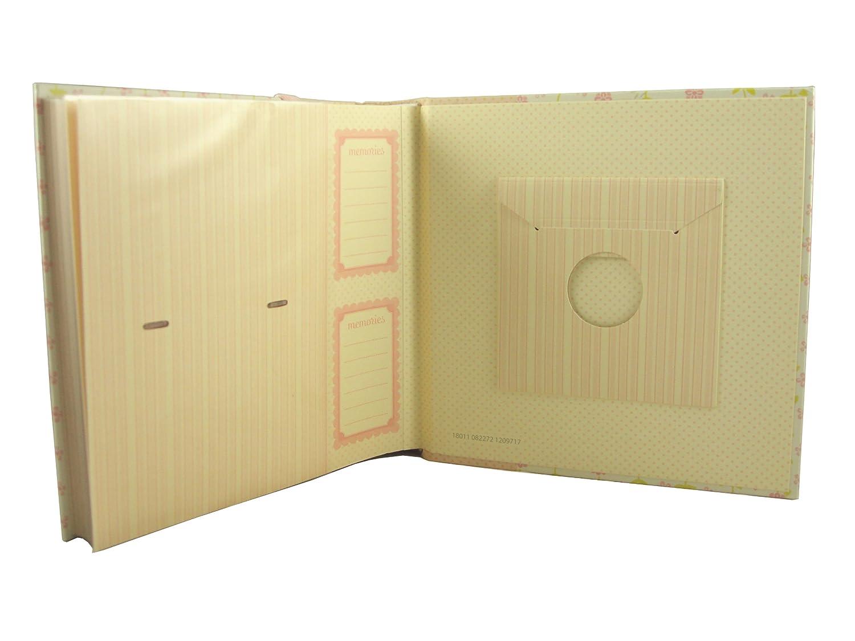 C.R. Gibson Bound Photo Journal Album with CD Storage Pocket, LuLu by Anna Griffin