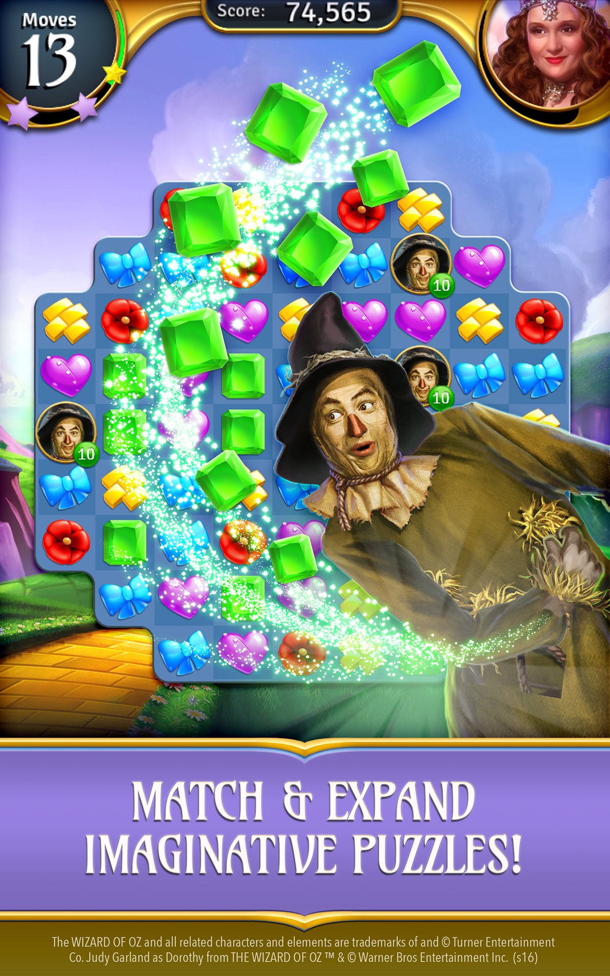 Amazon The Wizard Of Oz Magic Match Appstore For