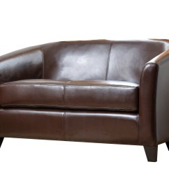 Abbyson Leather Sofa Decorating Ideas For Living Room With Brown Montecito Loveseat