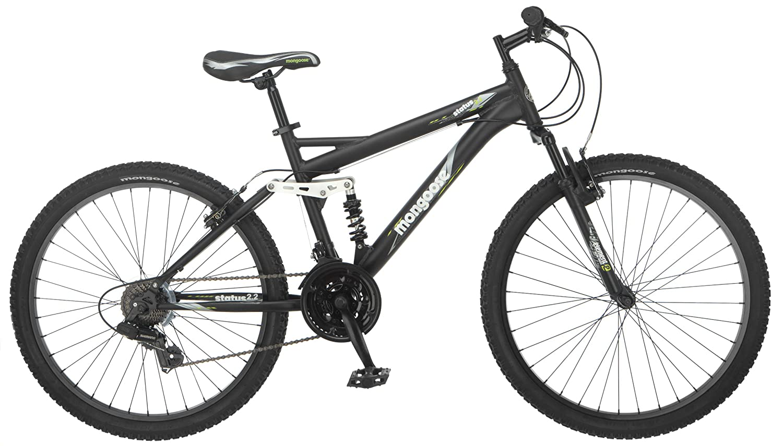 4. Bicycle: Discount Mens Black Mountain Bike 26