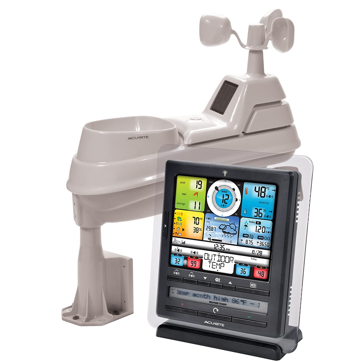 Acurite Pro Color Weather Station With Pc Connect