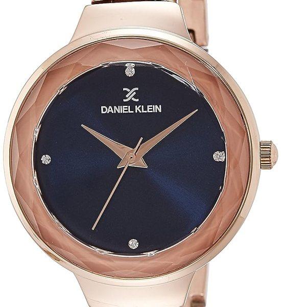 Daniel Klein Analog Blue Dial Women's Watch-DK11279-5