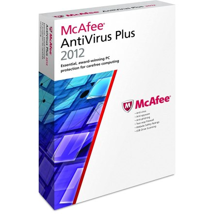 McAfee AntiVirus Plus 2012 Free for 6 Months