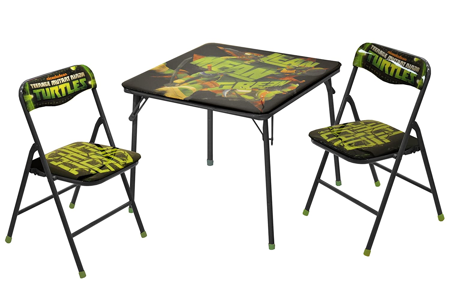 ninja turtles chair cushions with ties teenage mutant table and set