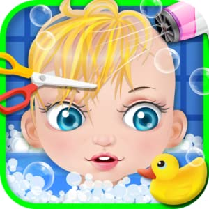 Amazoncom Baby Spa  Hair Salon  kids games Appstore for Android