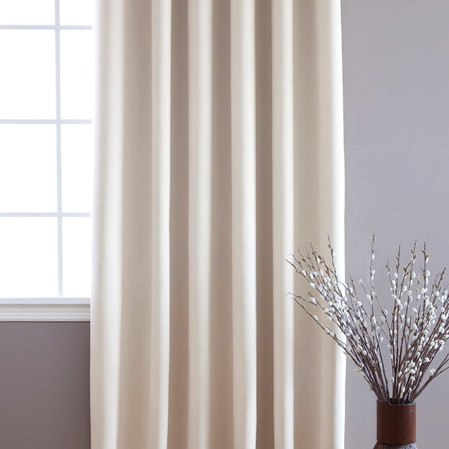 Best Home Fashion Thermal Blackout Curtain with Wide Width Grommet Top 100Inch  eBay
