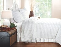 Ruffled Bedding is Frilly and Feminine | WebNuggetz.com